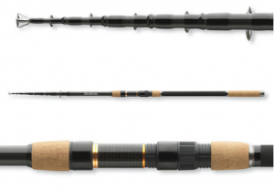 Telescopic carp rod BLACK WIDOW TELE CARP
