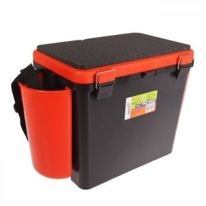 Ice Fishing Seatbox Tonar Helios - 19l, 1 section, orange