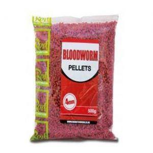 Пелети Rod Hutchinson BLOODWORM PELLETS 4mm - 500gr