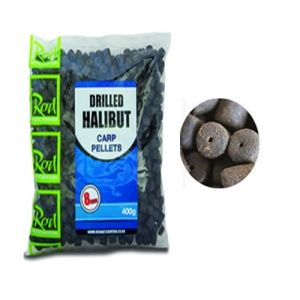 Пелети Rod Hutchinson DRILLED HALIBUT PELLETS 8mm - 400gr
