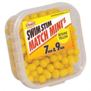 Dynamite Baits - SS Match Minis - BETAIN YELLOW