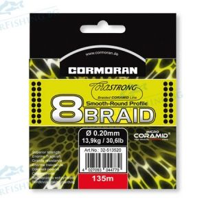 Braided line CORASTRONG 8 BRAID