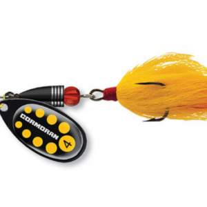 Classic spinner BULLET - black/yellow