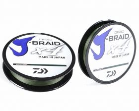 Braided line Daiwa J-BRAID X4 MULTICOLOR - 150m