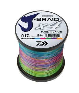 Braided line  Daiwa J-BRAID X8 - 1500м / multi color