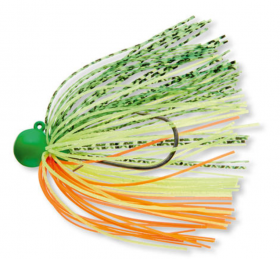 Soft plastic lure Lineaeffe OCTOPUS LINEAEFFE RED/YELLOW, 12 sm, 5 pcs. in pack