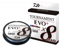 Плетено влакно Daiwa TOURNAMENT X8 BRAID EVO+ multi-color 300m