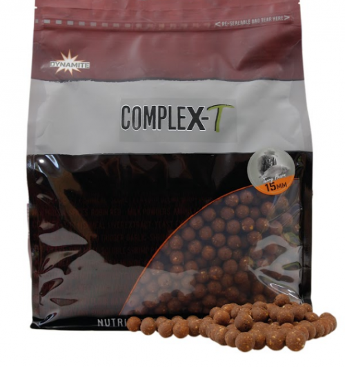 DYNAMITE BAITS Complex-T Boilies - 15мм / 1кг