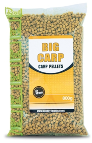 Пелети Rod Hutchinson BIG CARP PELLETS - 800gr
