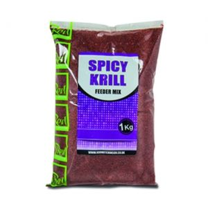 Захранка Rod Hutchinson SPICY KRILL FEEDER MIX - 1kg