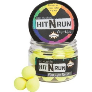 Плуващи топчета - Dynamite Baits - Hit n` Run Pop-Ups 15mm