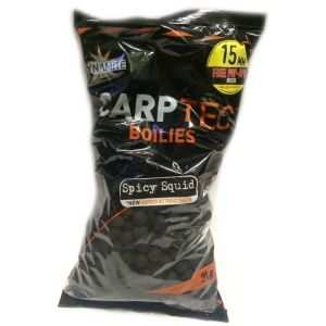 Протеинови топчета - DYNAMITE BAITS CarpTec Spicy Squid 15mm - 2kg