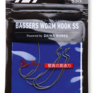 Narrow offset hooks BASSERS WORM