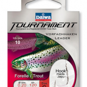 Вързани куки Daiwa TOURNAMENT Trout Hook