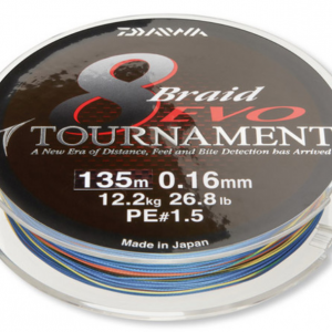 Плетено Влакно Daiwa TOURNAMENT 8 BRAID EVO - 300м / multi color