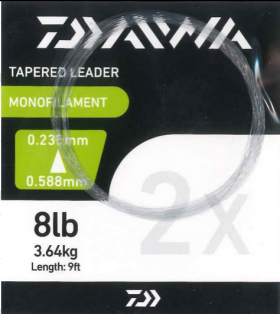 Daiwa Tapered Leaders - 9ft