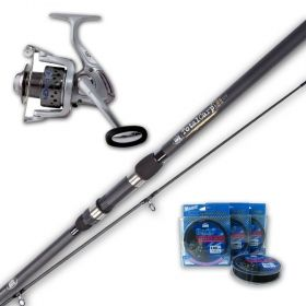 Carp Fishing Rod Daiwa EMBLEM CARP - set of 3 pieces